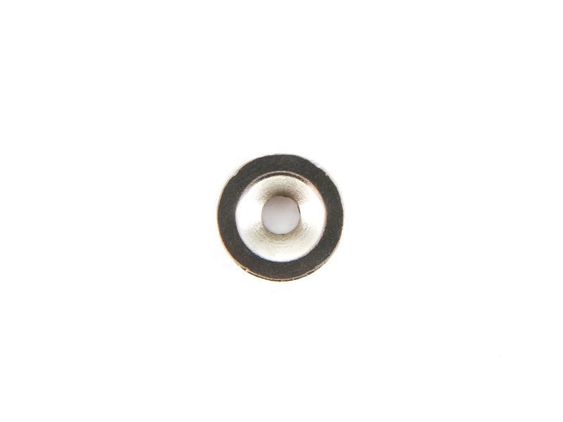 Neodymmagnet cirkulär med hål D15xT5 mm