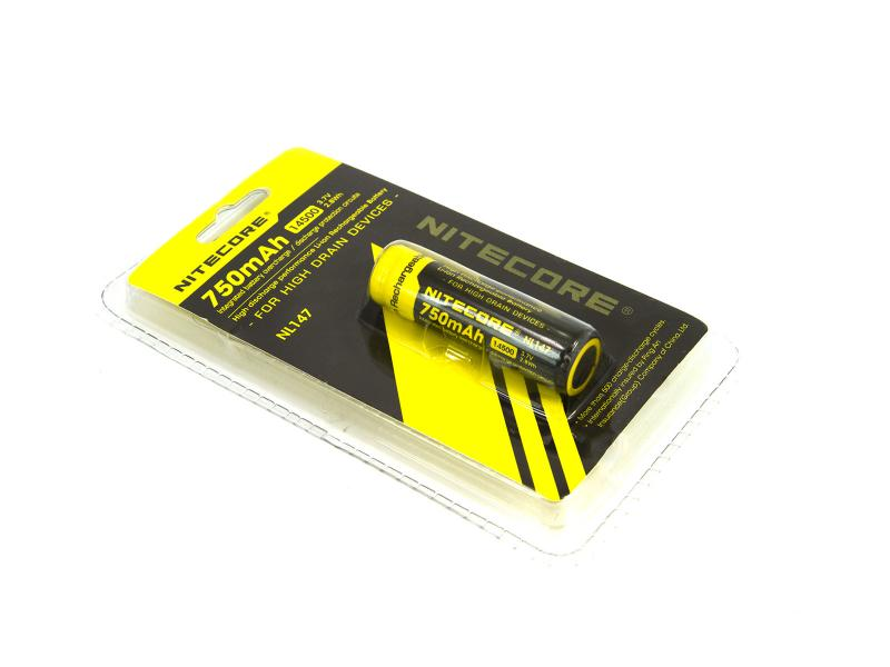 Nitecore NL147 Li-Ion batteri (14500)