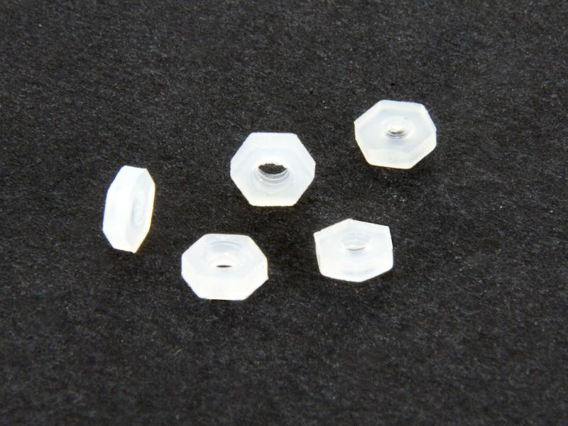 Nylonmutter M2, 5 st