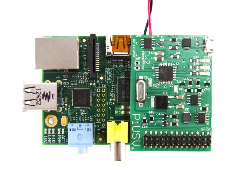 Pi UPS - Avbrottsfri kraftförsörjning för Raspberry Pi