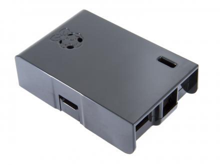 Plastlåda för Raspberry PI 1, svart