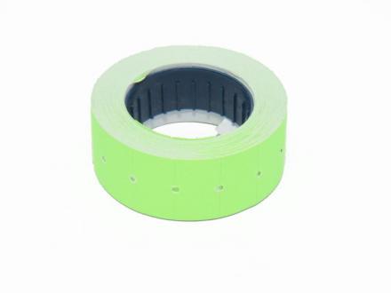 Prisetiketter, gröna fluorescerande
