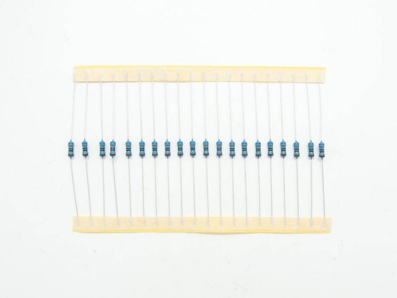 Resistorsortiment 0,25W - 400 st motstånd 10 ohm - 1 Mohm
