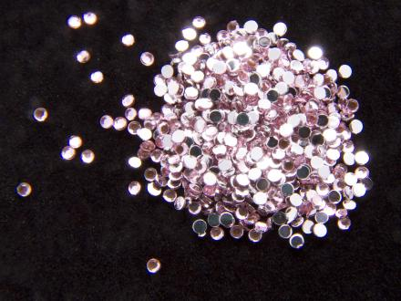Rhinestones, nageldekorationer - 1,5mm - Rosa