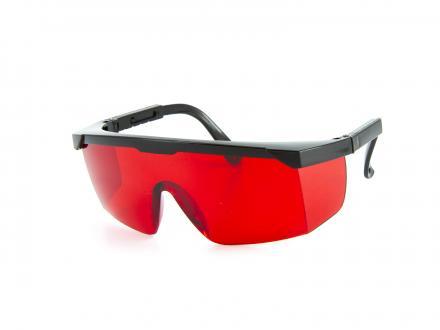 Rödtonade skyddsglasögon