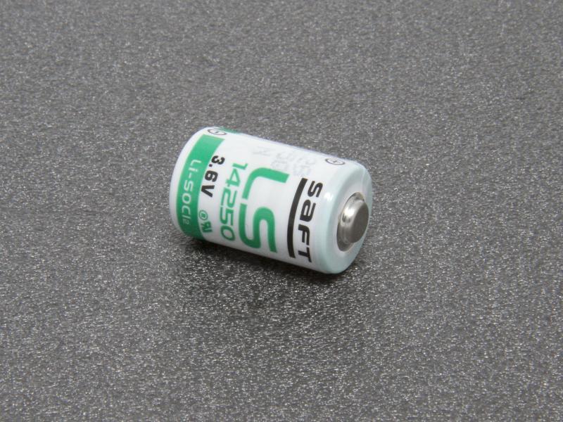 SAFT LS 14250 3,6 volt Litiumbatteri 1/2 AA