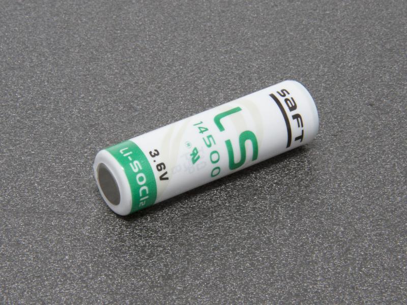 SAFT LS 14500 3,6 volt Litiumbatteri AA
