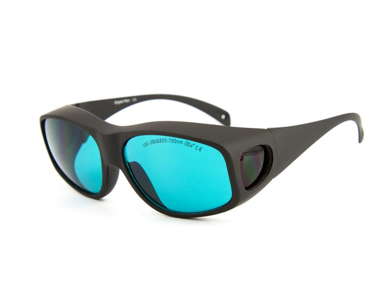 Skyddsglasögon för röd laserstrålning 600-760nm