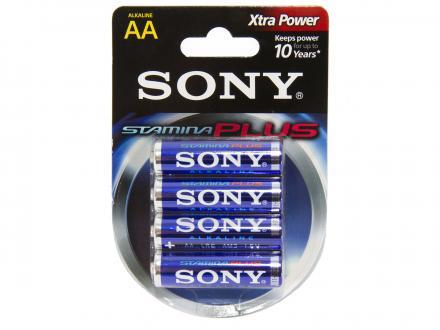 Sony Stamina Plus AA alkalinebatteri