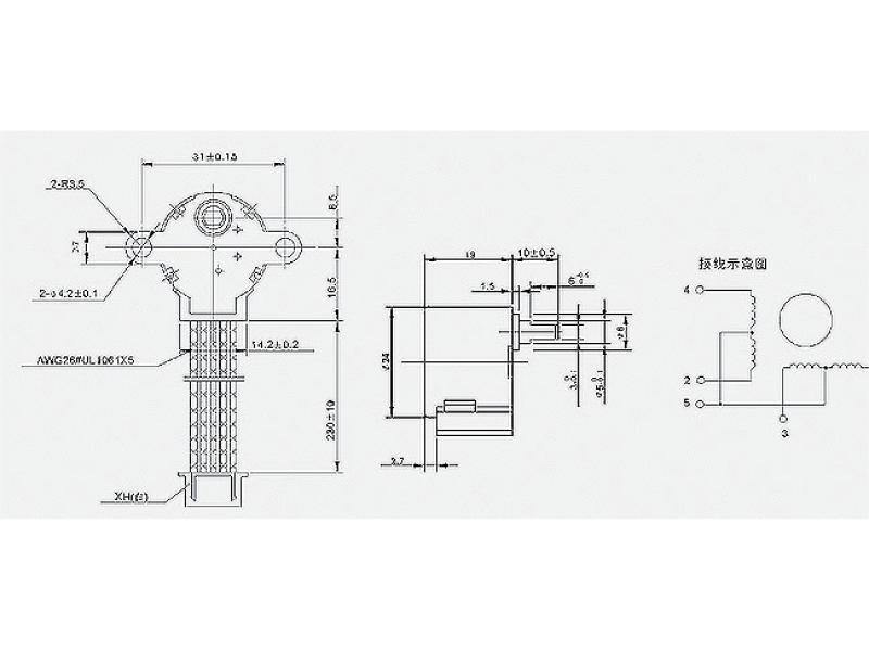 Stegmotor 12V