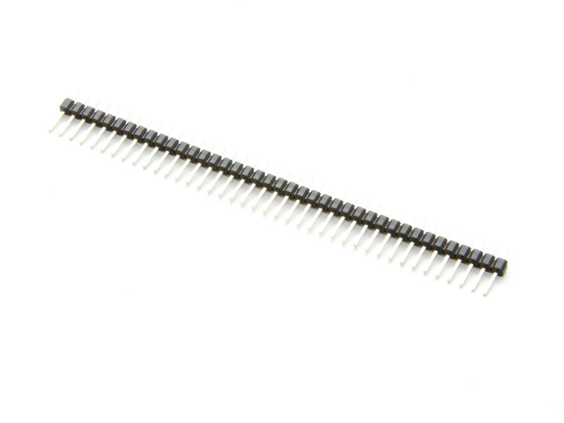 Stiftlist, 40pin, 2,54 mm delning