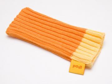 Strumpa för iPod Nano och mobil - Orange