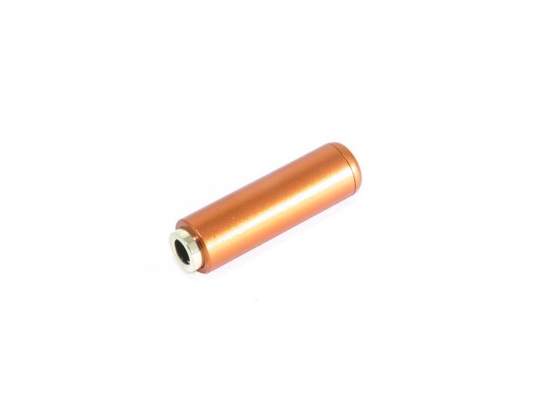 Telejack stereo 3,5 mm aluminium