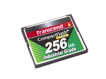 Transcend CompactFlash 256MB industriell kvalitet