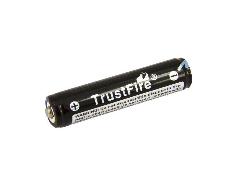 TrustFire Laddningsbart litiumbatteri 10440 3,7V 600mAh