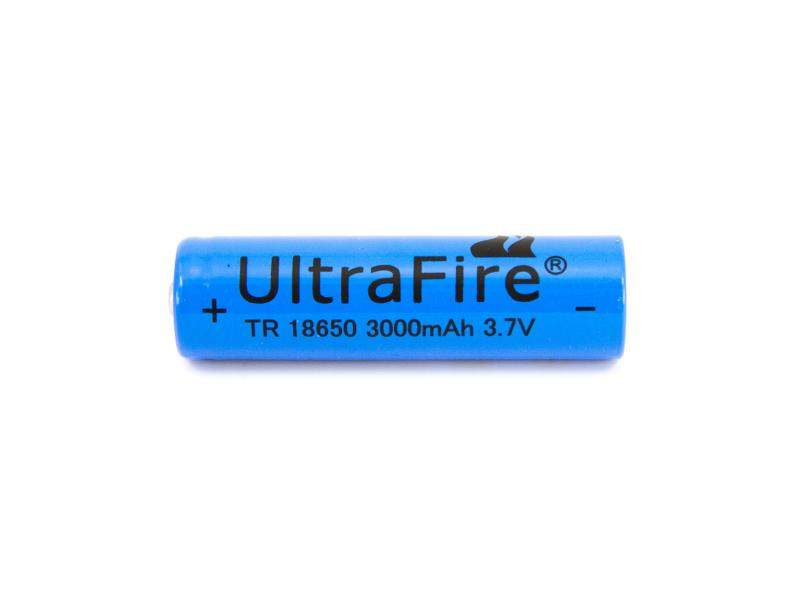 TrustFire Laddningsbart litiumbatteri 18650 3,7 volt 2500mAh
