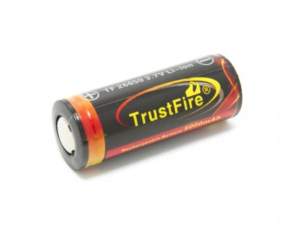TrustFire Li-ion TF 26650 3,7V