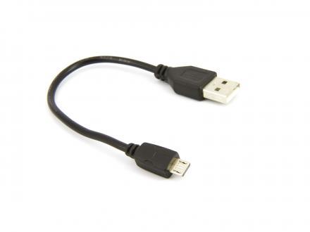 USB-microUSB kabel - 13cm