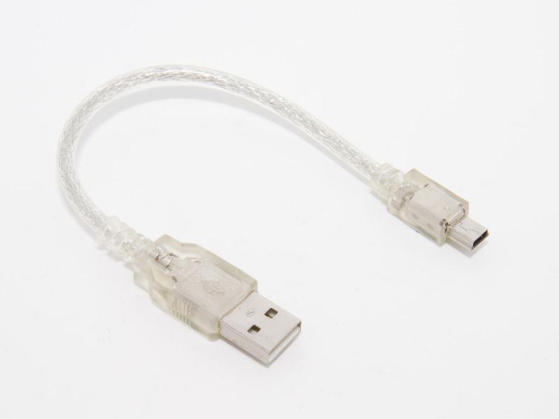 USB-miniUSB kabel - 14cm