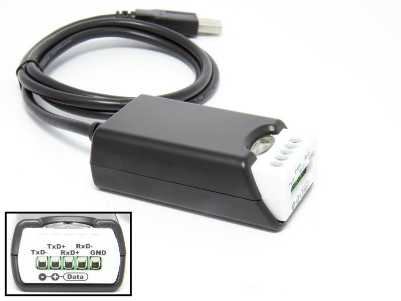 USB till seriell adapter RS-485 och RS-422