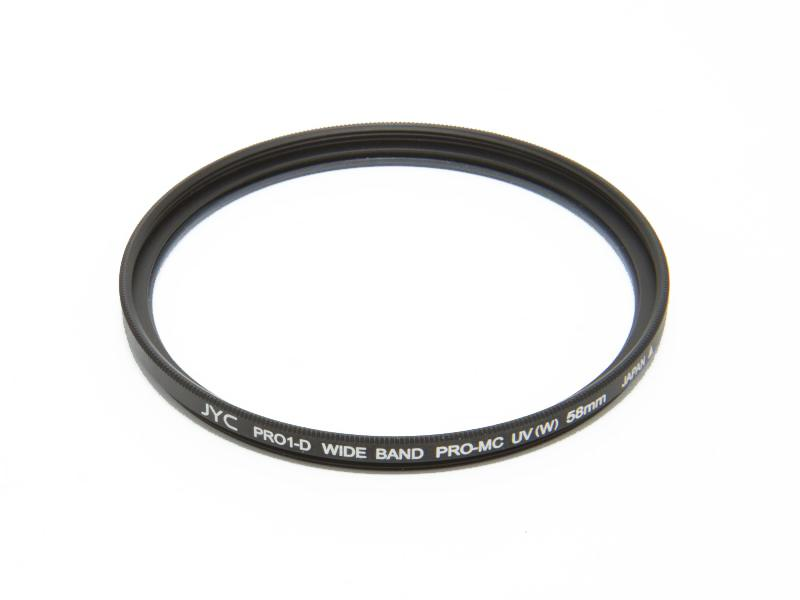 UV-filter 58mm, Low Profile
