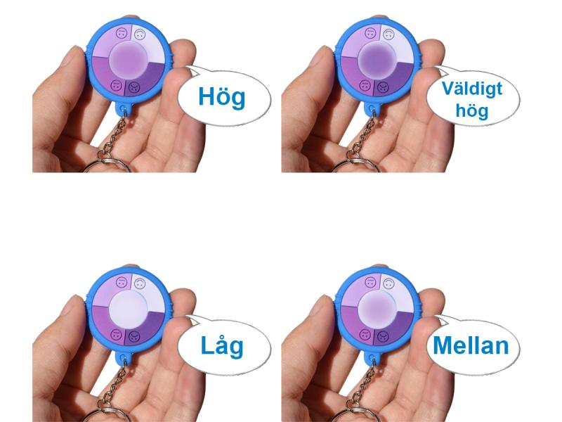 UV-mätare som varnar vid hög UV-strålning