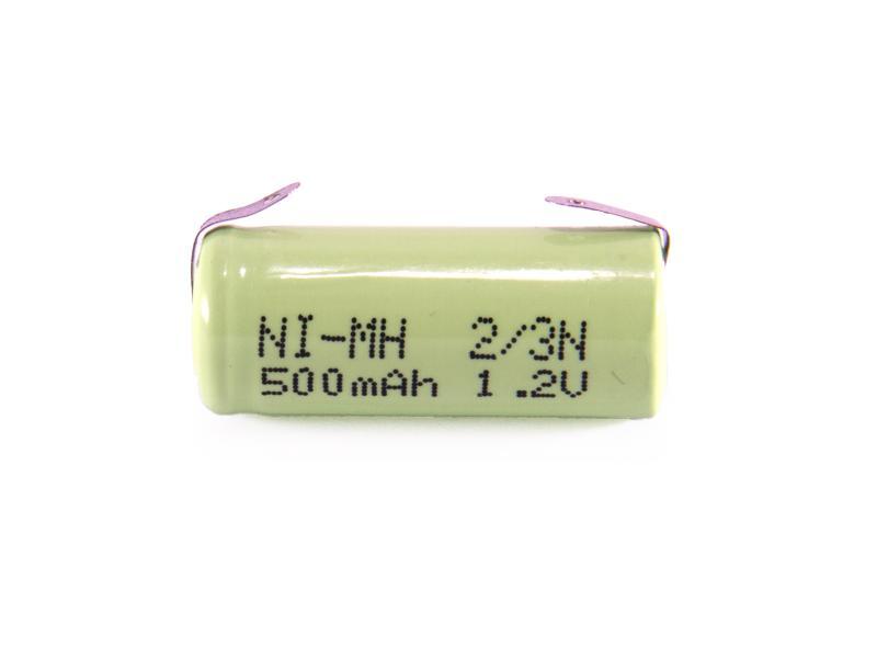 2/3N NiMh 1,2 V 500 mAh