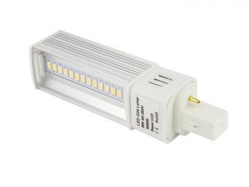 6W SMD G23 LED Varmvit