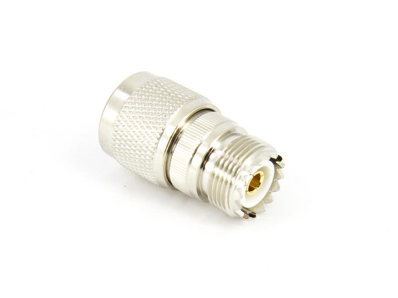Adapter UHF PL259 SO239 hona till N hane