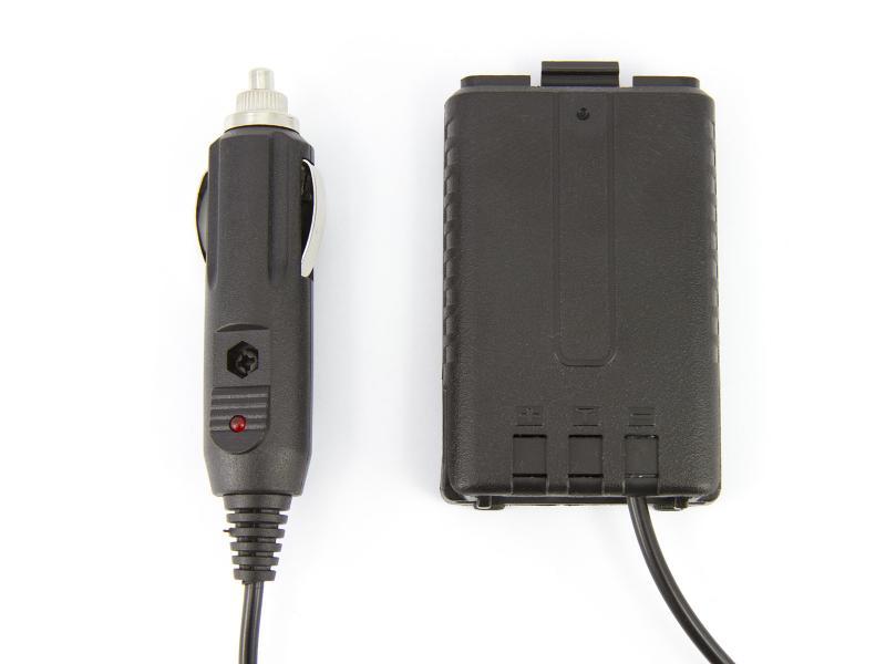 BaoFeng batteridummy för cigarettändaruttaget
