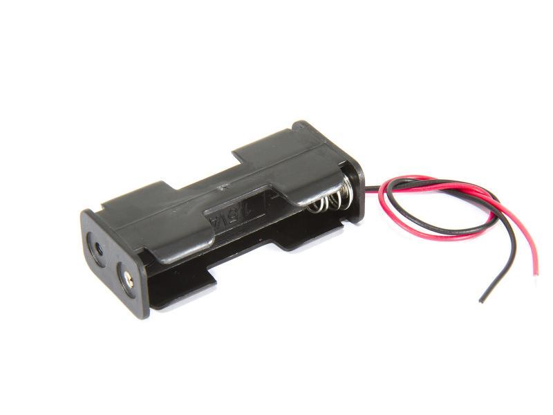 Batterihållare - 2xAA (LR06) back-2-back
