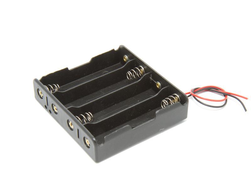 Batterihållare - 4x18650