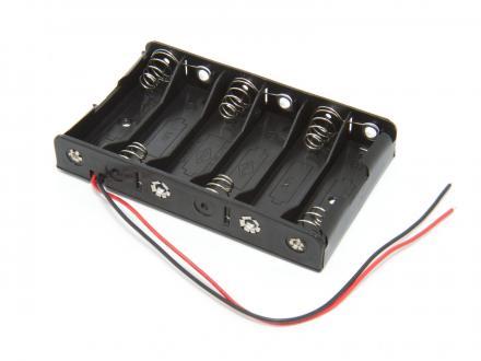 Batterihållare - 6xAA