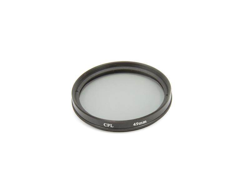 Cirkulärt polarisationsfilter 49mm