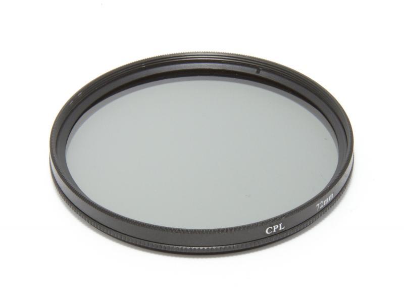 Cirkulärt polarisationsfilter 72mm