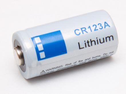 CR123A Litiumbatteri (16340)