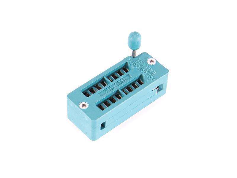 DIL-16 Nollkraftsockel