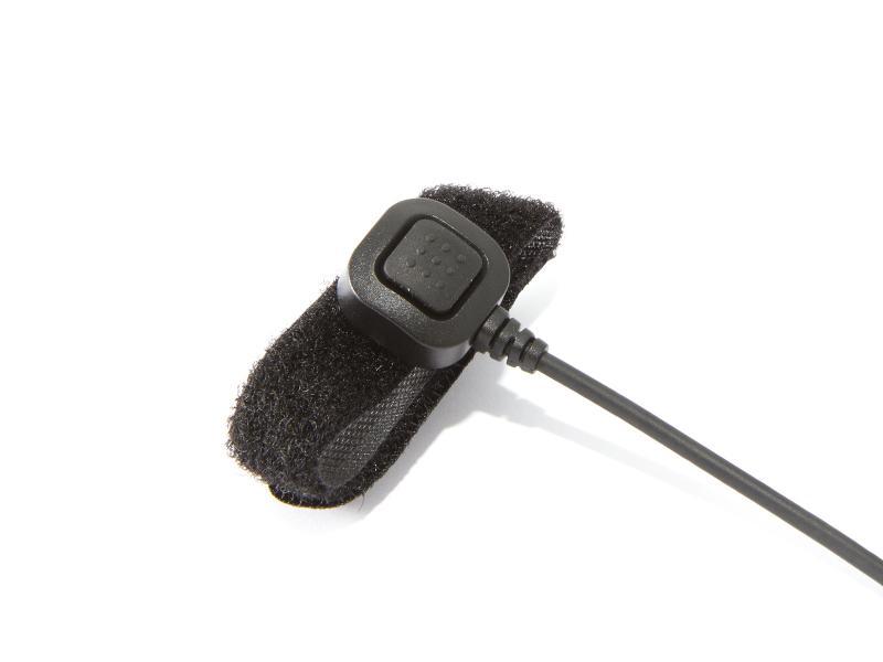 Handsfree med bom-mikrofon till comradio