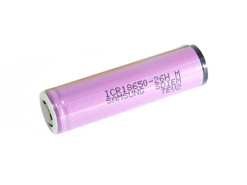 ICR18650-26H Samsung Litiumbatteri 3,6 v 2600mAh PCB