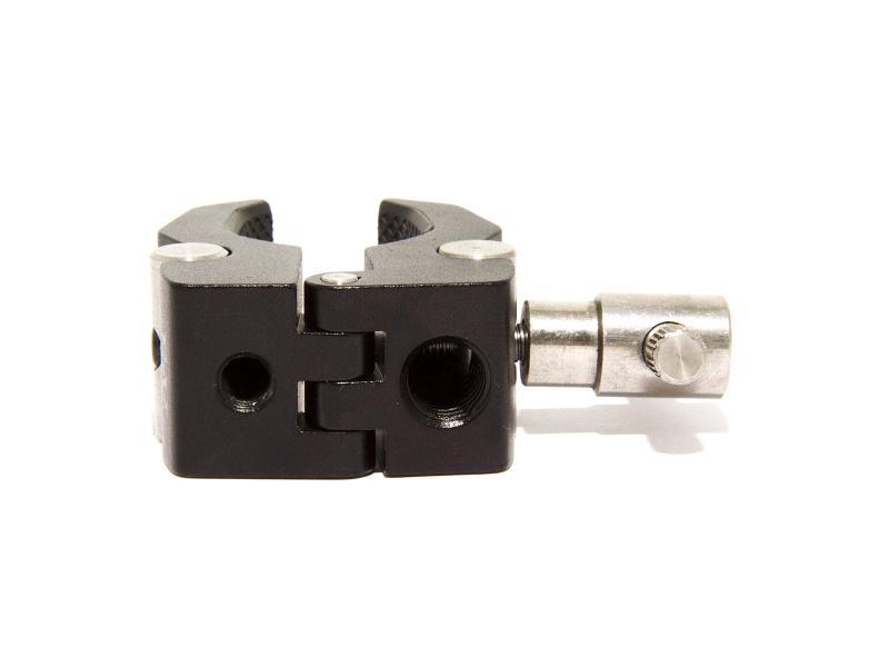 Kai Clip för fotografisk utrustning, svart och silver