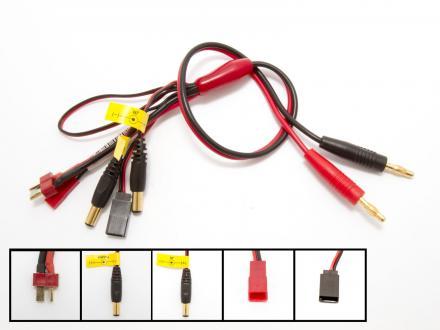 Laddkabel för sändare, mottagare och batteripack