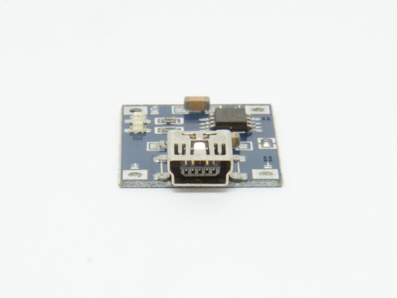 Laddmodul med USB för 1st Li-Ion batteri