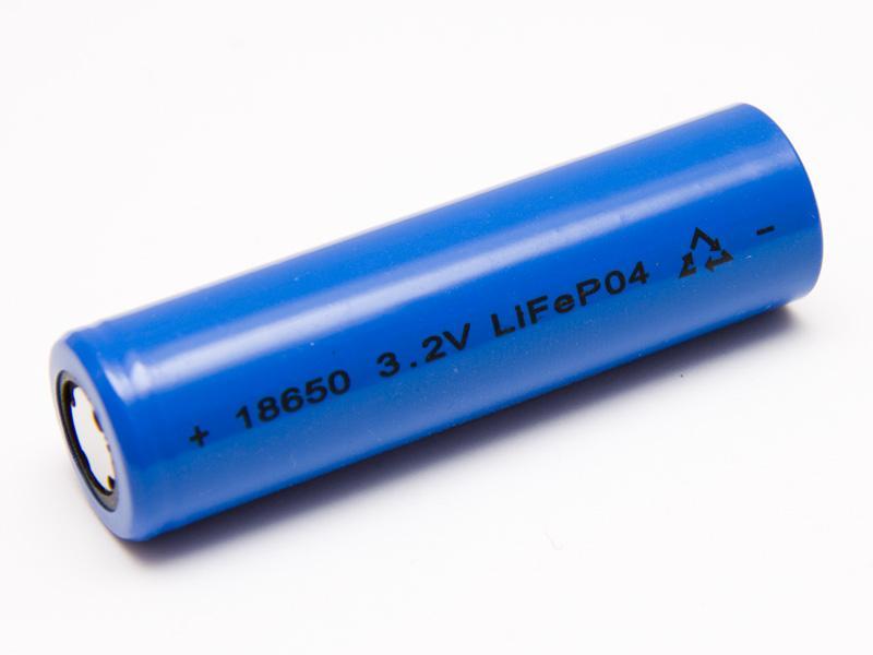 Laddningsbart LiFePO4 18650 3,2 volt