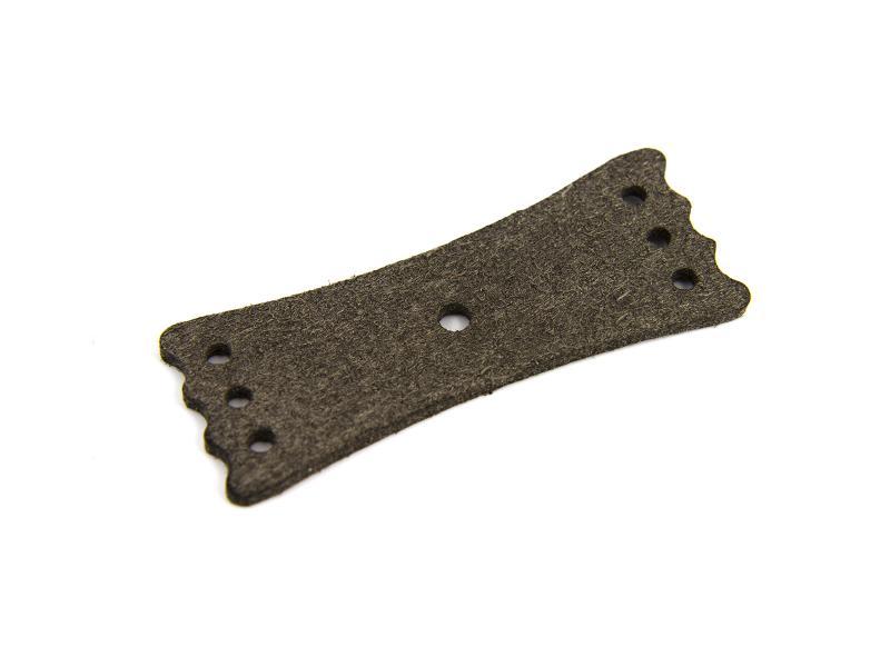 Läderficka till slangbella 65x25 mm