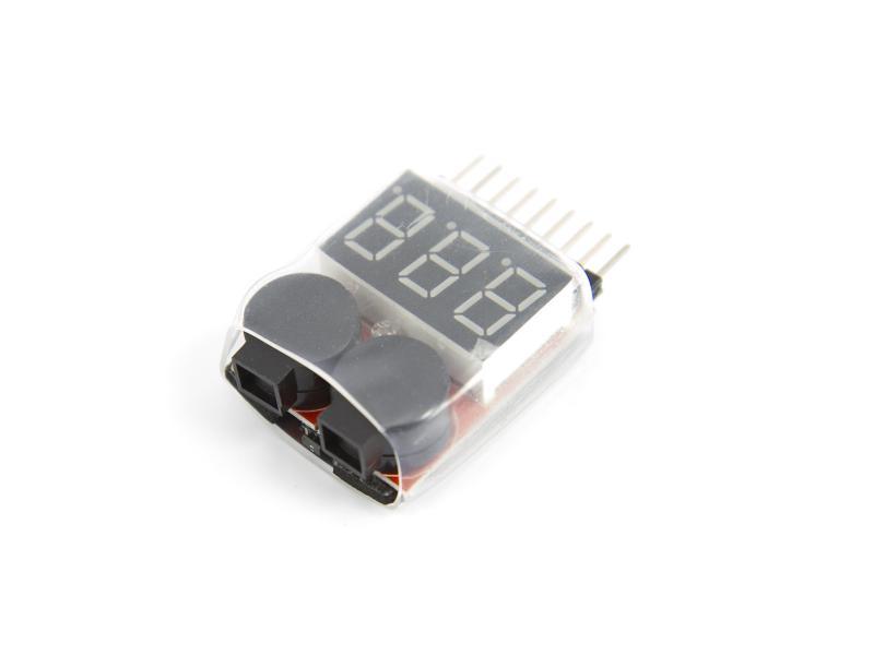 Lågspännings-alarm för lithium-batterier 1-8S