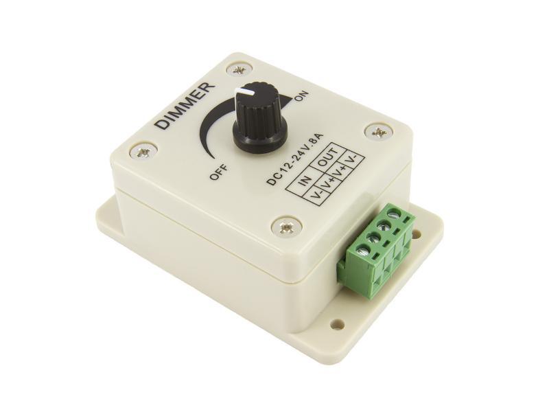 LED Dimmer 12 V, 8 A