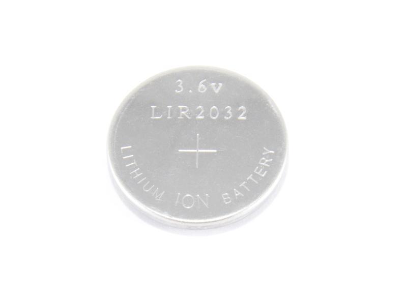 LIR2032 laddningsbar knappcell