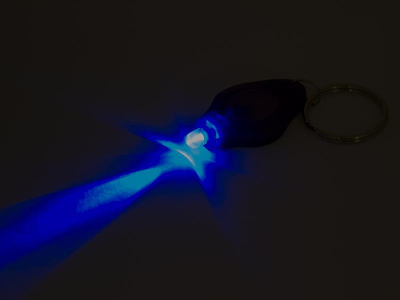 Mini- UV-lampa med nyckelring