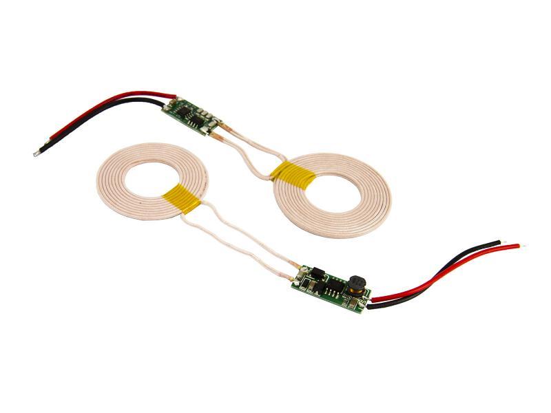 Moduler för trådlös laddning av batteri 5V/1A