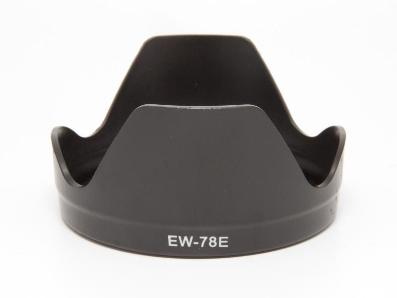 Motljusskydd till Canon EF-S 15-85 F3.5-5.6 IS USM (EW-78E)